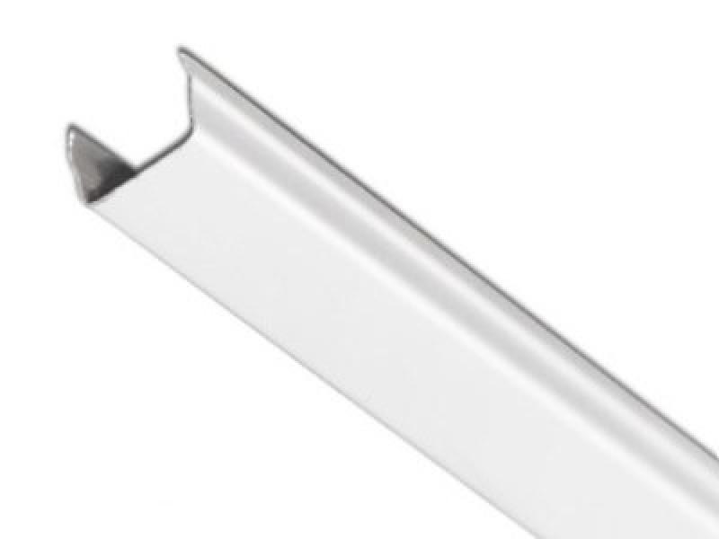 Раскладка для реечного потолка Немецкого дизайна с открытыми стыками белый матовый А902