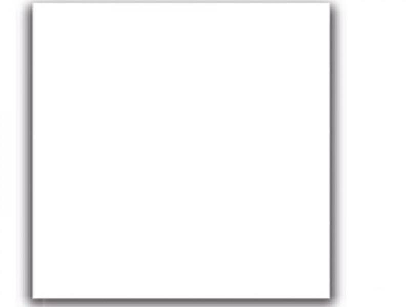 Потолочная металлическая кассета ОРКАЛ ПЛЕЙН без перфорации белая / ORKAL PLAIN LAY-IN unperforated White MicroLook 8 600x600x8