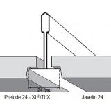 Потолочная плита РИТЕЙЛ RETAIL Tegular 24 600x600x14