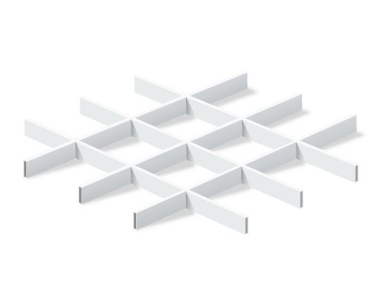 Грильято Эконом 150х150 выс. 40 шир. 10 белый