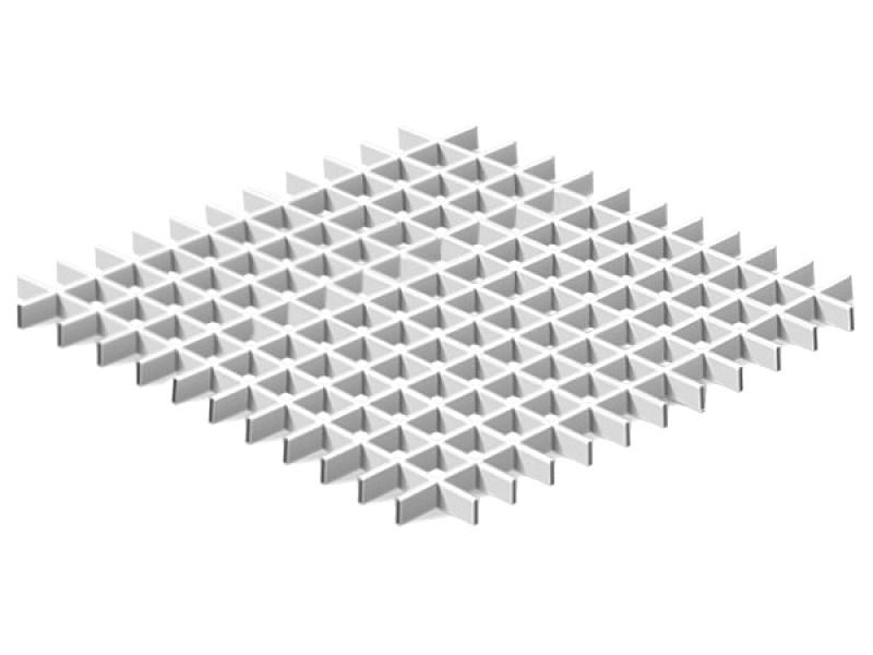 Грильято Эконом 50х50 выс. 30 шир. 10 белый
