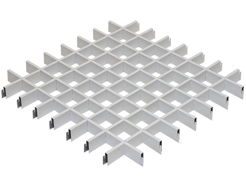 Грильято Эконом 75х75 выс. 40 шир. 10 белый