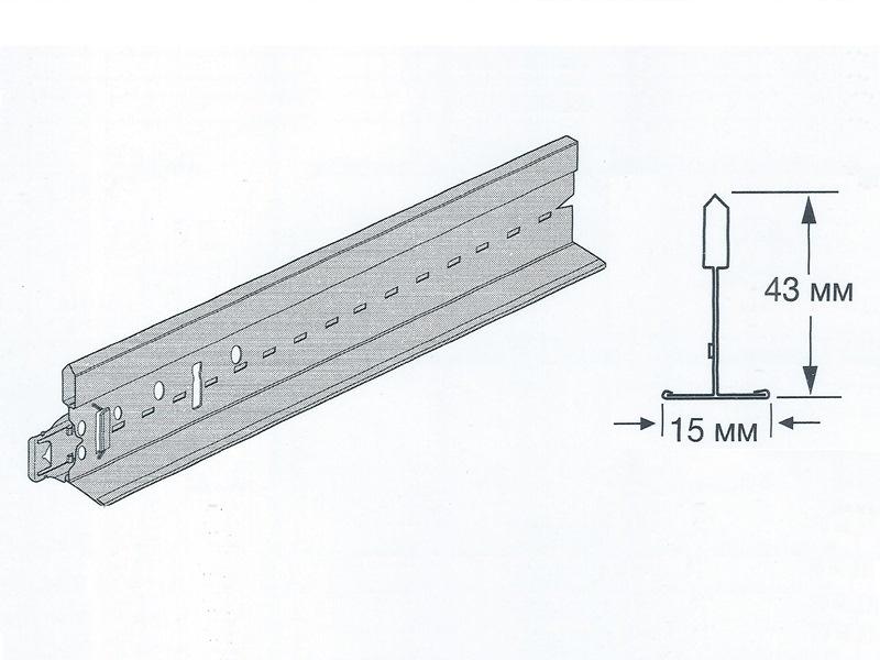 Prelude Peakform 15 - Универсальная несущая рейка 3600 мм