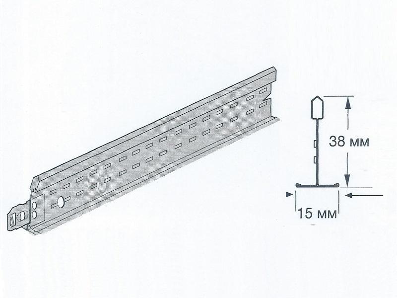 Prelude 15 XL2 - Поперечная рейка 600 мм