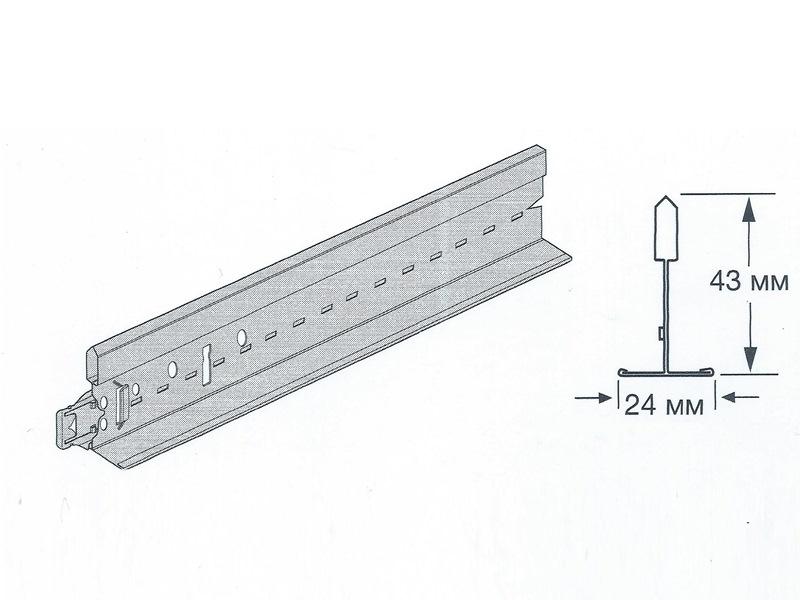Prelude Peakform 24 - Универсальная несущая рейка 3600 мм