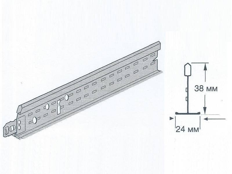 Prelude 24 XL2 - Поперечная рейка 1200 мм