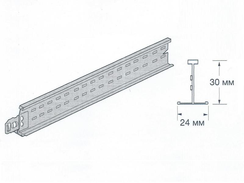 Prelude 24 XL2 - Поперечная рейка 600 мм