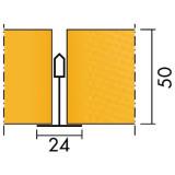 Потолочная плита ИНДАСТРИАЛ ОПАЛ INDUSTRIAL OPAL A 600x600x50